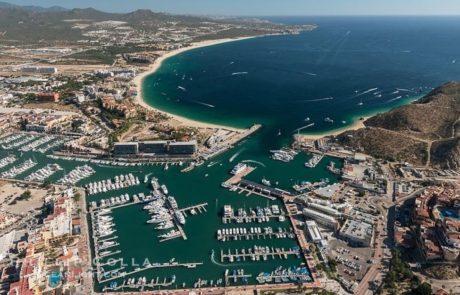 Ariel View Cabo Bay
