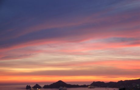 Sunsets over Cabo Bay