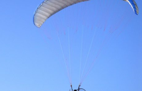 Parachute over Los Cabos