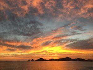 Sunset, Cabo Corridor