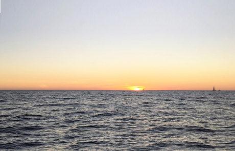 Sailing at Sunset, Cabo San Lucas