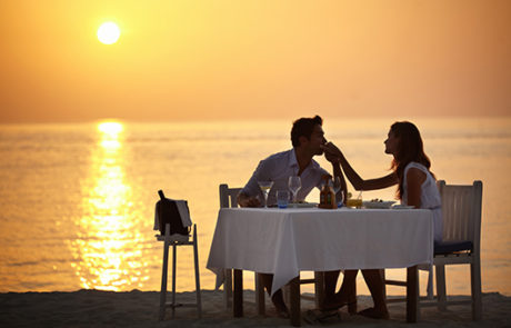 Romantic Sea Side Dinning in Cabo