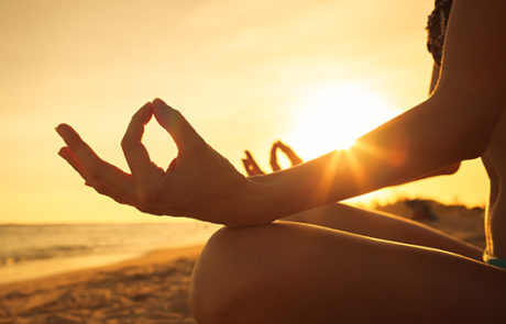 Yoga at Medano Beach