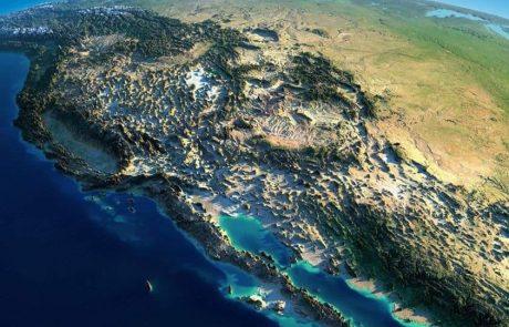 Baja california satelitte views