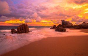 Pedregal sunsets; Pedregal Beach sunsets; Sunsets Playa de Pedregal