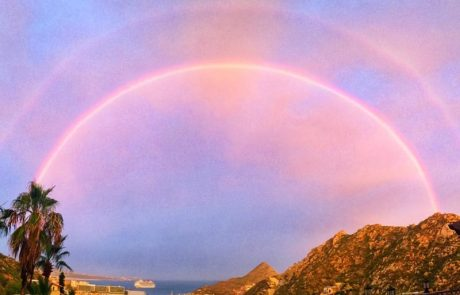 Rainbows over the Cabo Marina; Cabo Marina Rainbow; Rainbows Cabo San Lucas