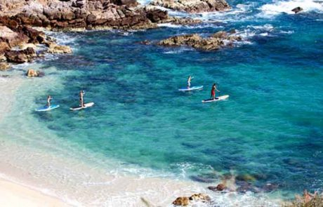 Chileno Bay Cabo, Chileno Bay Paddle Boarding, Paddle Boarding Chileno Bay
