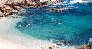 Chileno Bay Cabo, Chileno Bay Paddle Boarding, Paddle Boarding Chileno Bay